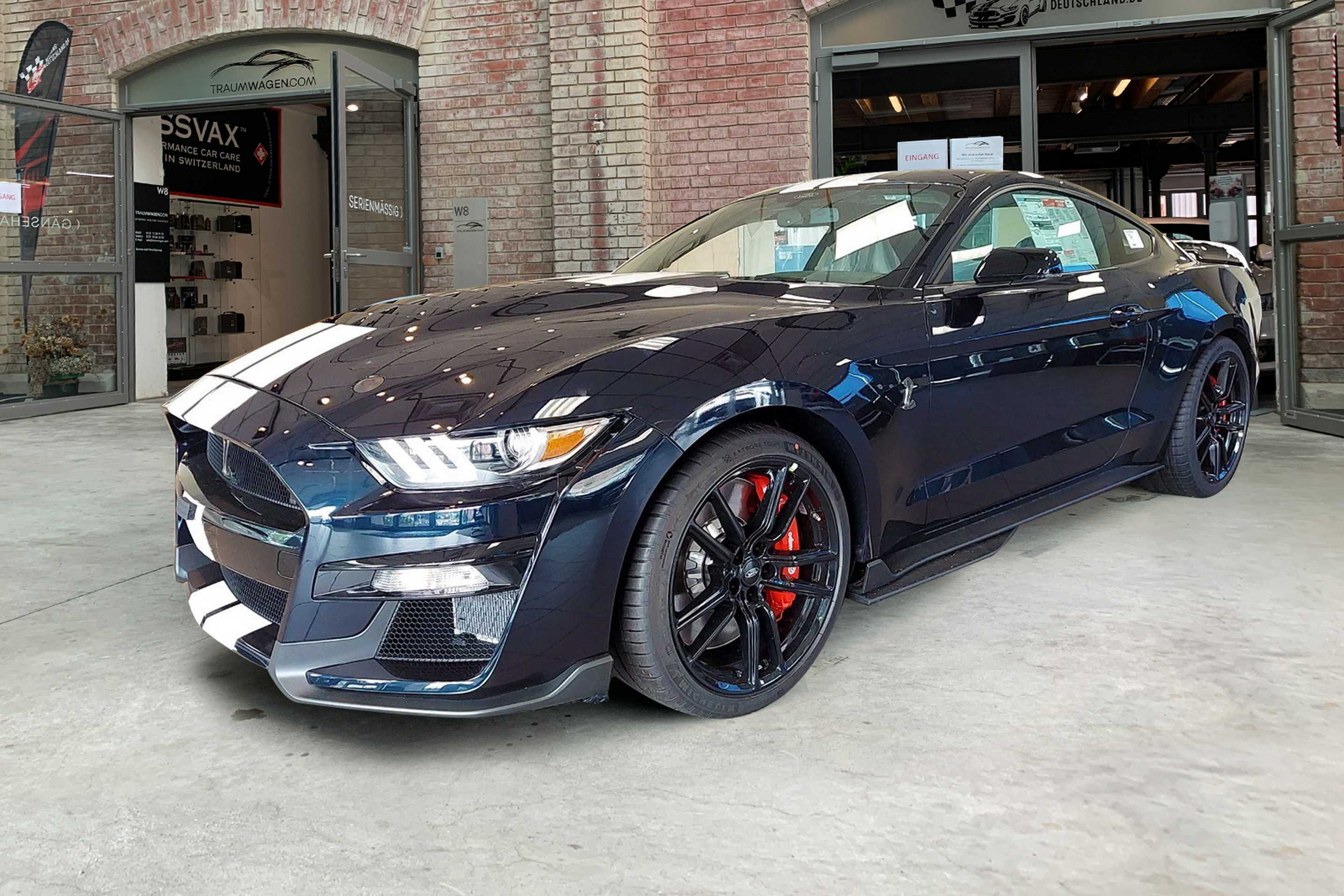 Ford Mustang (Shelby GT500 Coupé 2021 RECARO/Carbon-In)