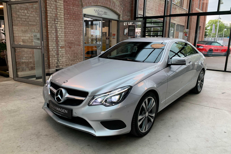 Mercedes-Benz E 250 ((BlueTEC) d Coupe 9G-TRONIC LED*Navi*Memor)